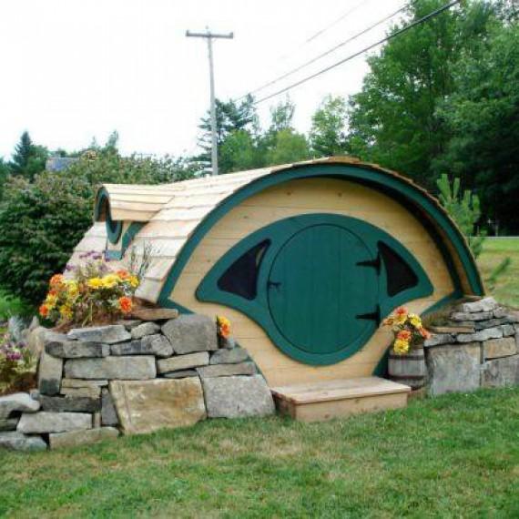 Trou de hobbit - Maison de hobbit a louer ...