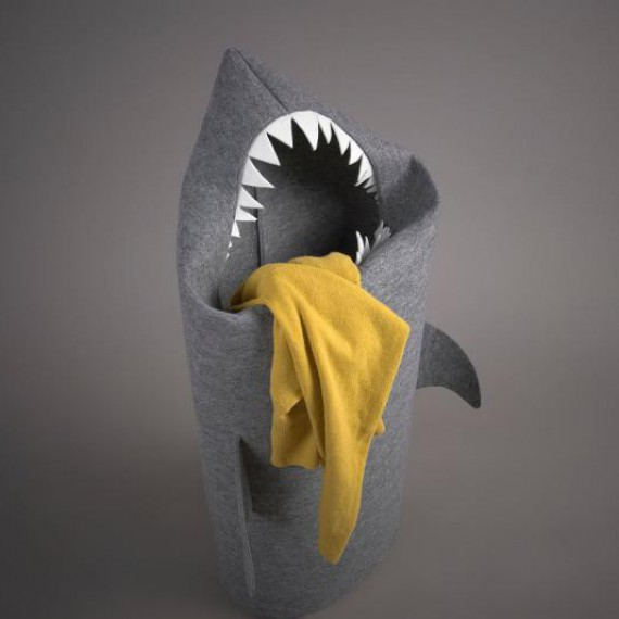 Bac à linge requin