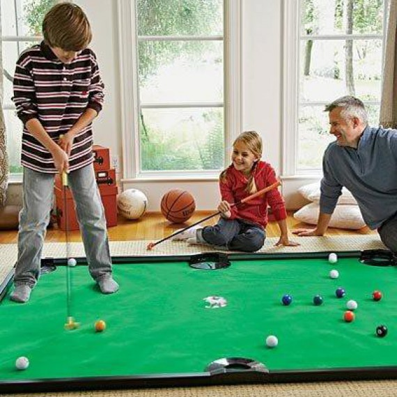 Le golf billard miniature