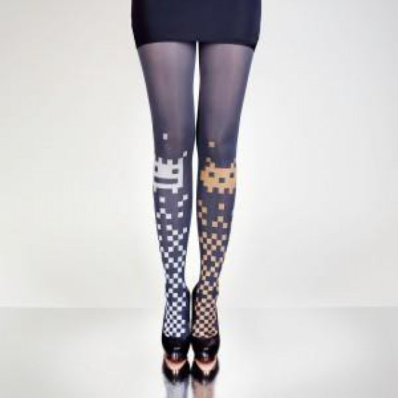 Collants Space Invaders