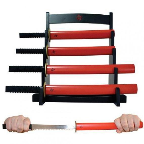 Set de couteaux Katana Samouraï