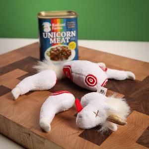 Boîte de conserve viande de licorne