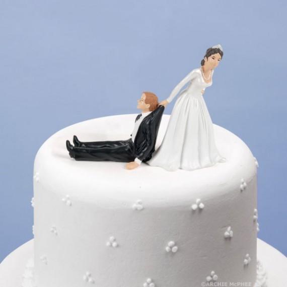 Figurine gâteau de mariage