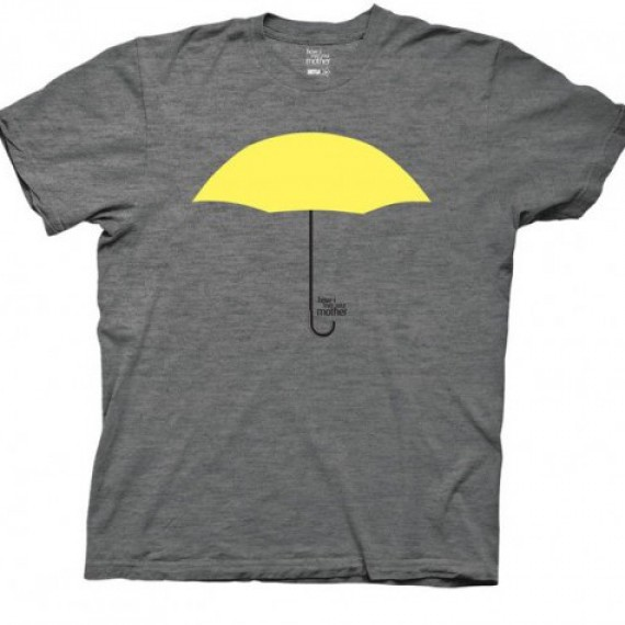 T-shirt How I met your mother parapluie jaune