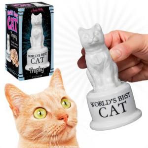 Statuette pour le Meilleur chat au monde