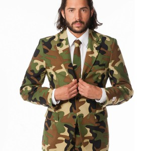 Costume (costard) camouflage de guerre