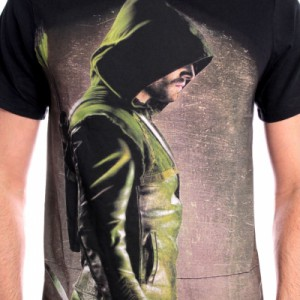 T-Shirt Oliver Queen Green Arrow