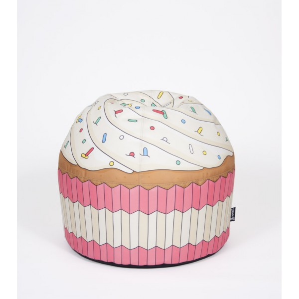 pouf cupcake g ant woouf commentseruiner. Black Bedroom Furniture Sets. Home Design Ideas