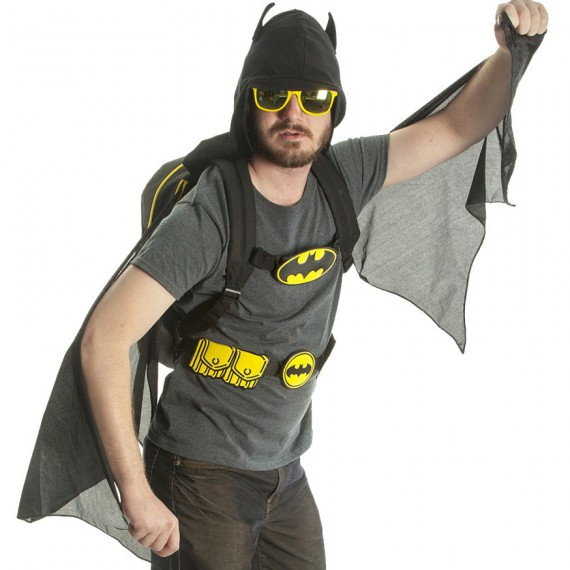 Le sac à dos costume de Batman