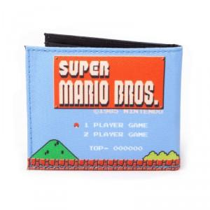 Portefeuille Nintendo Super Mario Bross Rétro