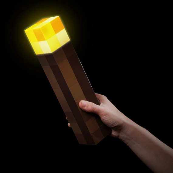 Torche officielle Minecraft