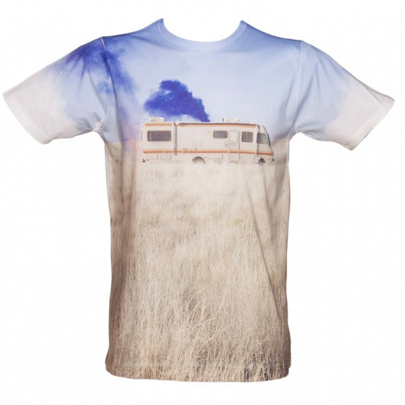 T-shirt Camping-car Breaking Bad