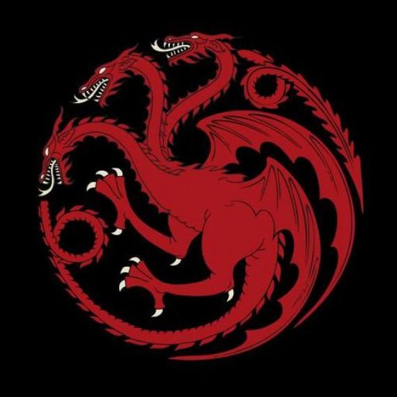 Collier Game of Thrones Targaryen