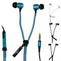 Les écouteurs zip (fermeture éclair)