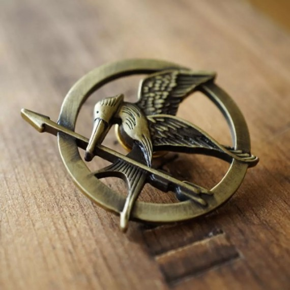 Badge Geai moqueur Hunger Games