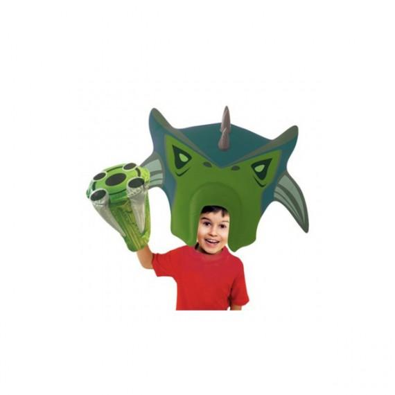 Perruque géante gonflable alien