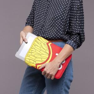 Housse pour Ipad/Tablette frites - Woouf