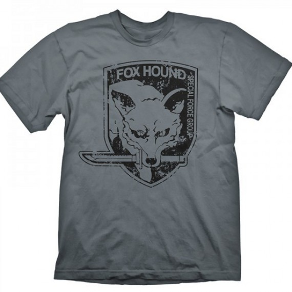 T-shirt Fox Hound Metal Gear Solid