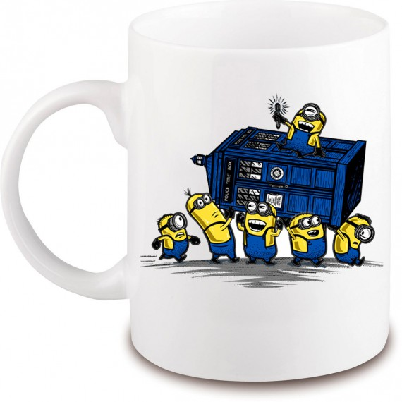 Mug Minion Tardis Docteur Who
