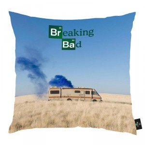 Coussin Breaking Bad Camping-car 40 x 40 cm