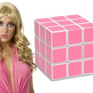 Rubik's couleur rose