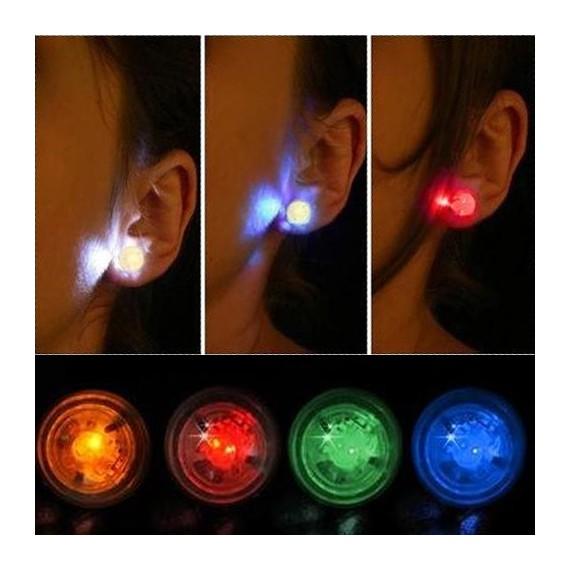Boucles d'oreilles lumineuses