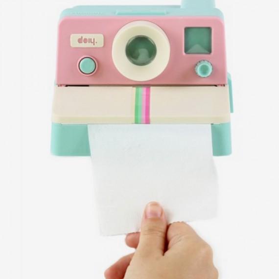 Distributeur de papier toilette polaroid polaroll pink salle de bain wc - Papier toilette licorne ...