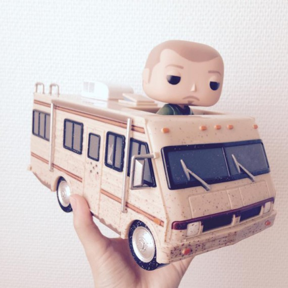 Figurine Pop Rides Crystal Ship Breaking Bad