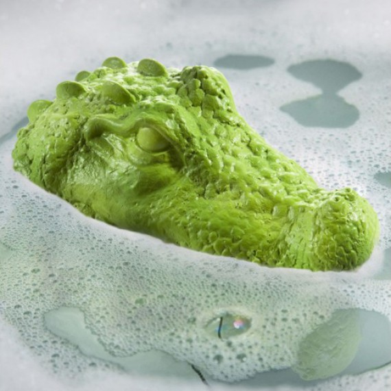 Bouchon de bain crocodile