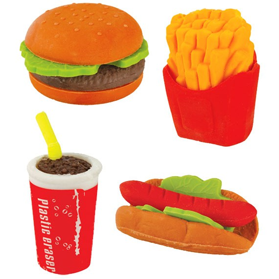 Gommes Fast Food