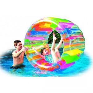 Roue de hamster gonflable pour piscine