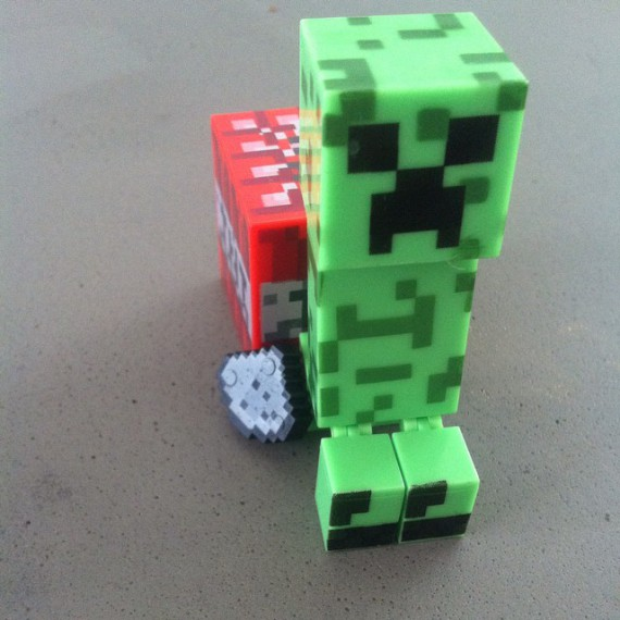 Figurine Minecraft Creeper
