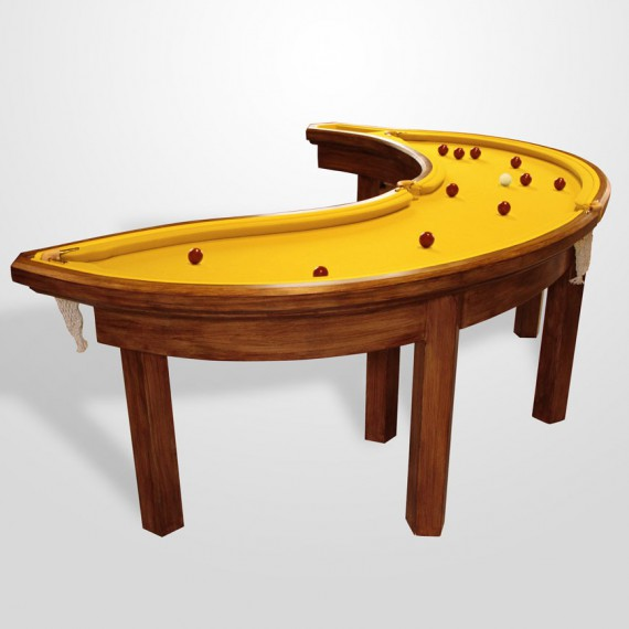La table de billard banane
