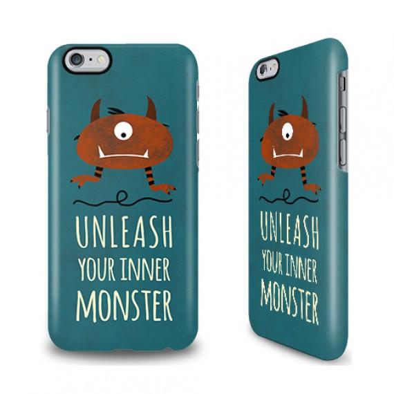 Coque smartphone monstre