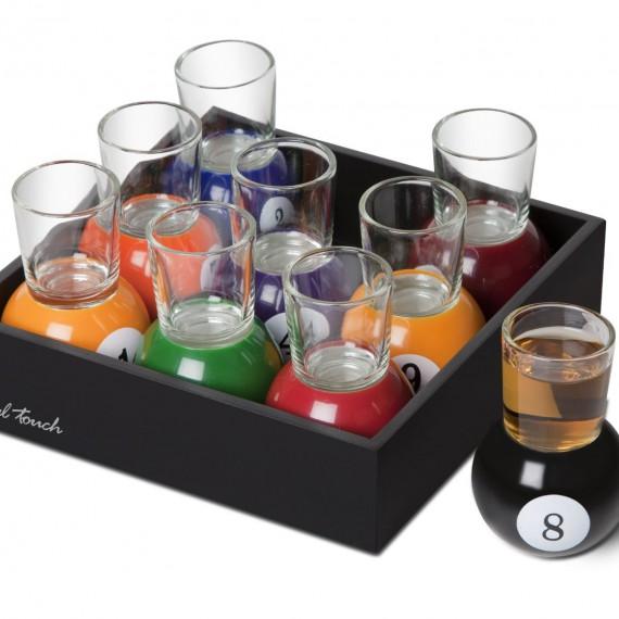 sup rieur verres a shot originaux 11 verres shooter. Black Bedroom Furniture Sets. Home Design Ideas