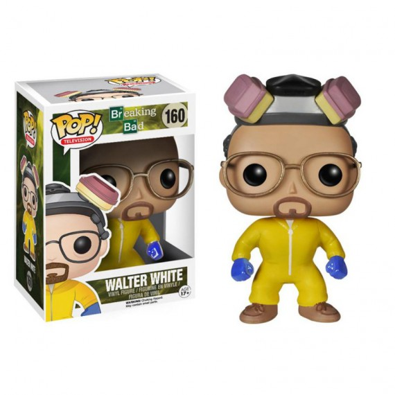 Figurines Pop Breaking Bad Walter White combinaison
