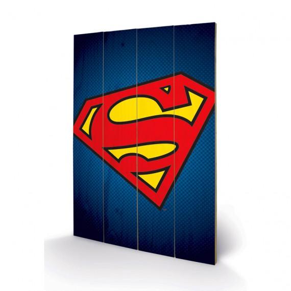Panneau en bois Superman DC Comics