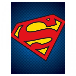 Toile Superman DC Comics