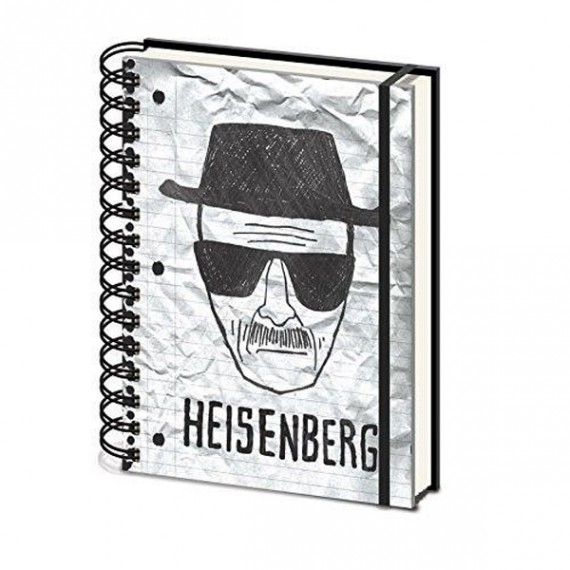 Cahier A5 Breaking Bad Heisenberg
