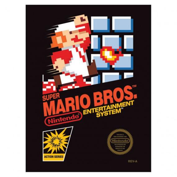 Toile Nintendo Cartouche Super Mario Bros