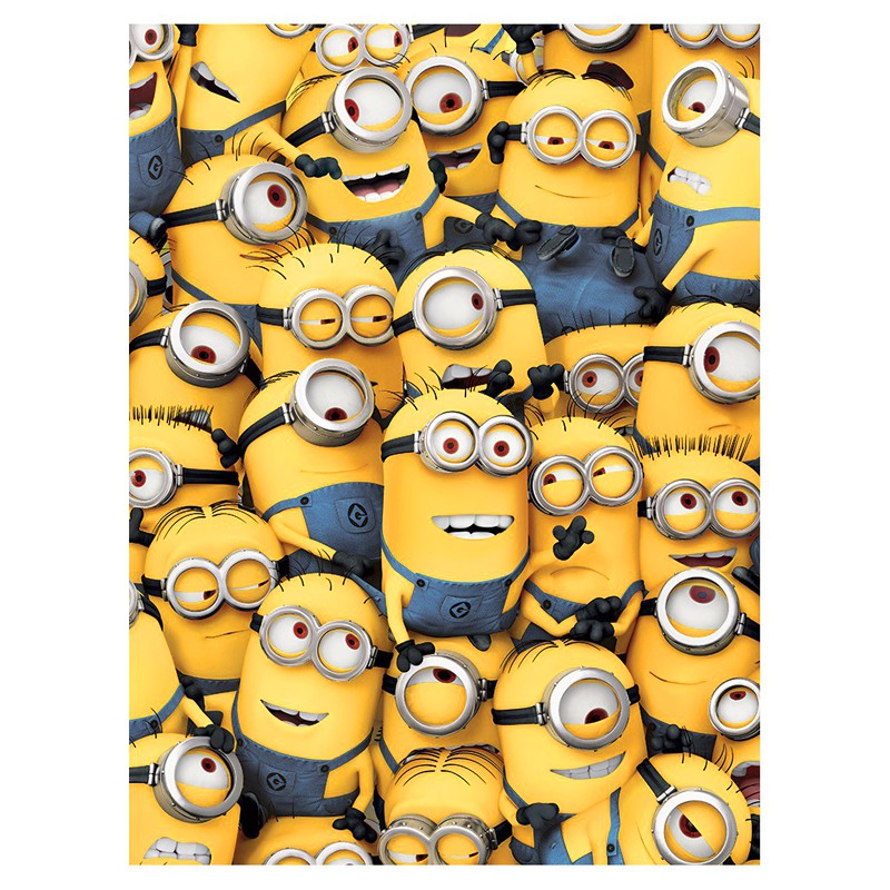 Toile minion moi moche et m chant - Mechant minion ...