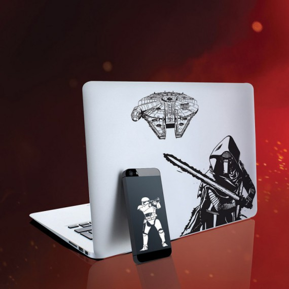 Stickers Star Wars EP7 pour Notebooks et Smartphones