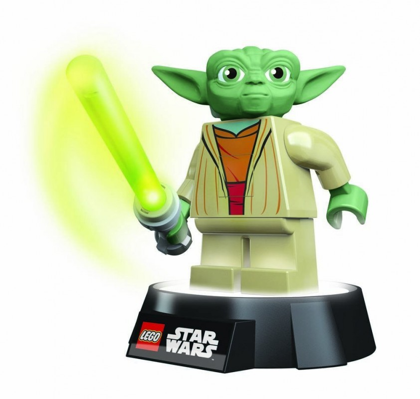 lampe de bureau lego star wars yoda. Black Bedroom Furniture Sets. Home Design Ideas