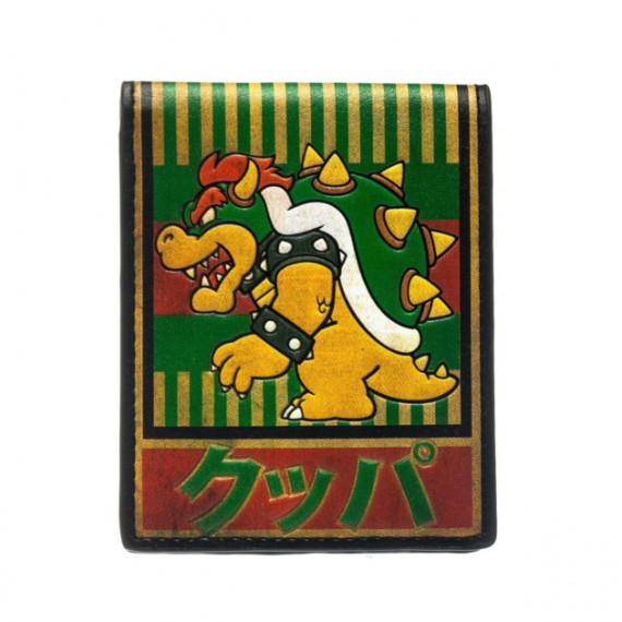 Portefeuilles Nintendo Bowser Kanji