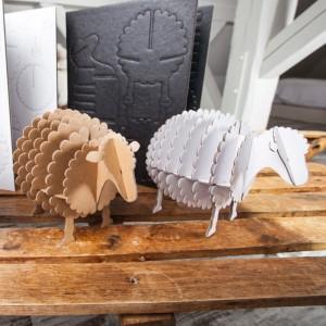 Mouton géant de bibliothèque