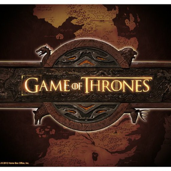Tapis de souris Game of Thrones Logo et Carte