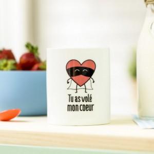 Mug - Tu as volé mon coeur