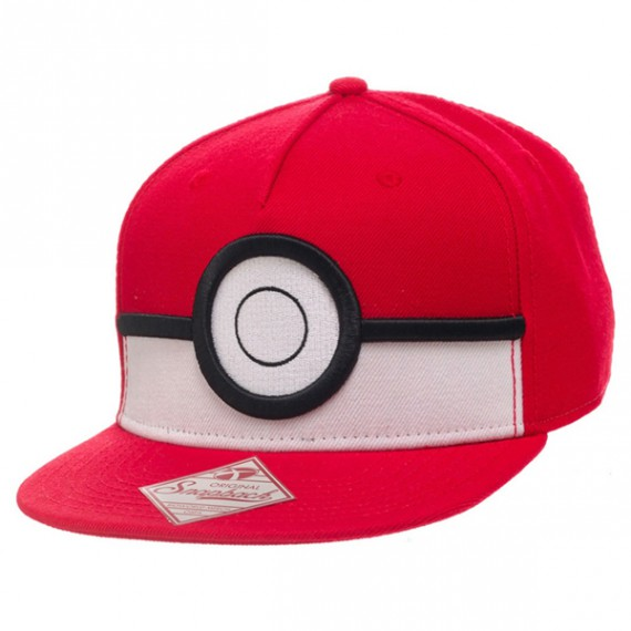 Casquette Pokemon Pokeball 3D