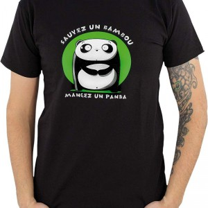 T-Shirt Sauvez un Bambou
