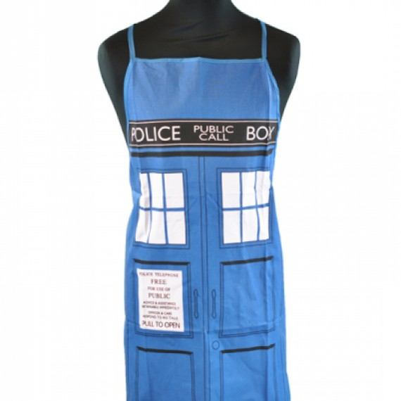 Tablier Doctor Who Tardis